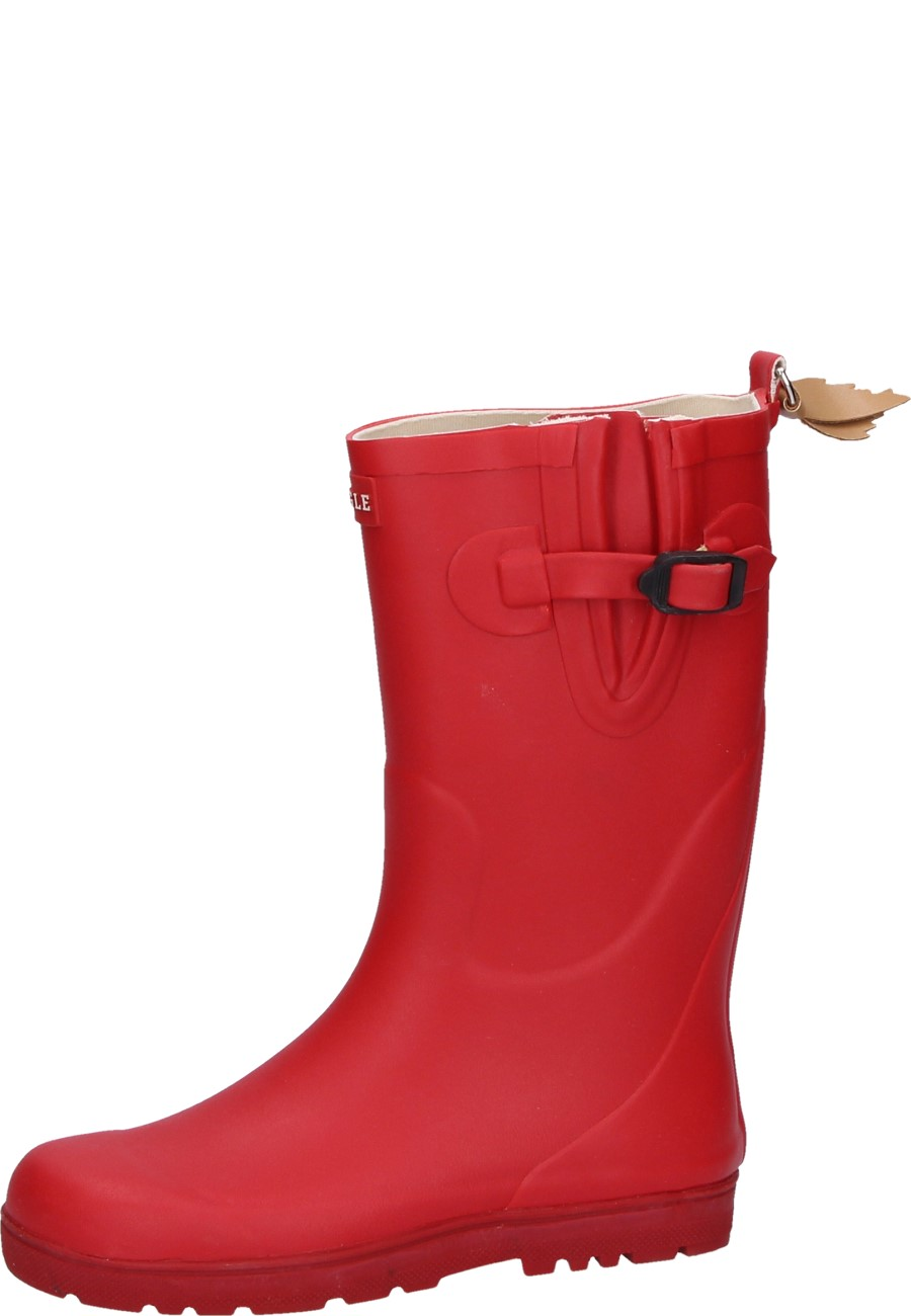 Aigle -WOODY POP cerise - Kids Wellies – a high-quality natural rubber boot