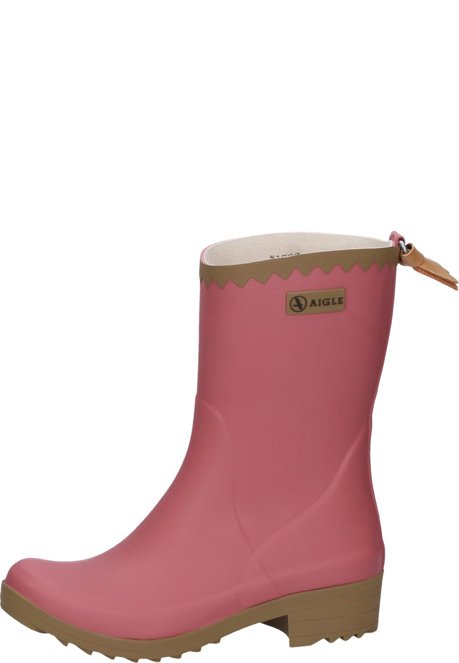 Aigle VICTORINE BOTTILION PRINT - Wellies - rasberry