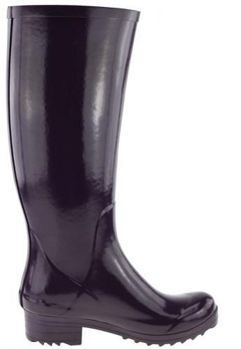 Aigle Brillantine Aubergine Rubber Boots A Modern