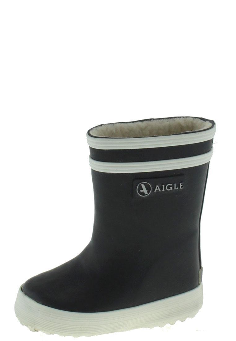 0ae2e617facb5 BABY FLAC FUR marine Infants Rubber Boots by Aigle
