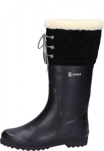 POLKA GIBOULEE new noir Women's Winter Rubber Boots