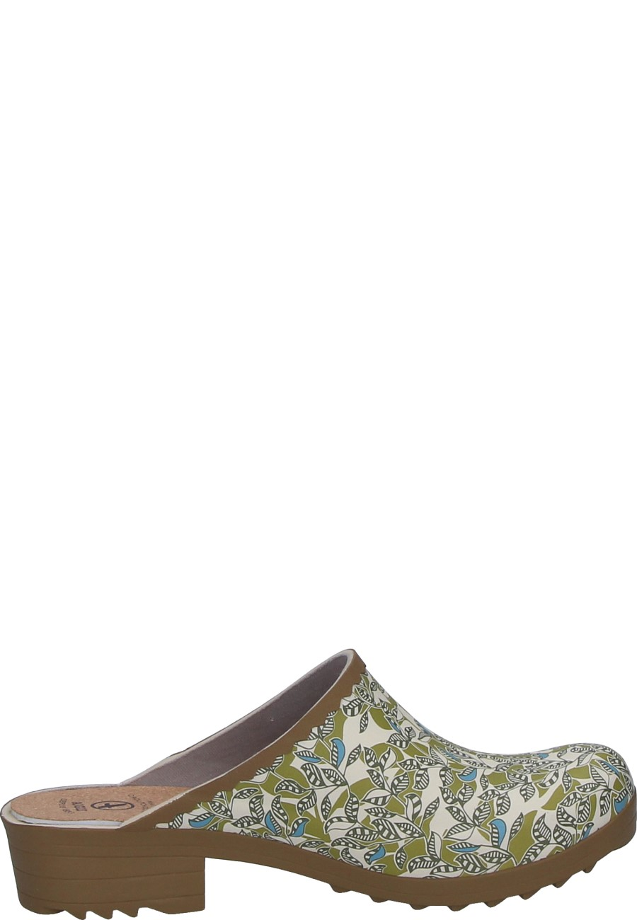 Victorine Sabot Print Women S Rubber Boots From Aigle