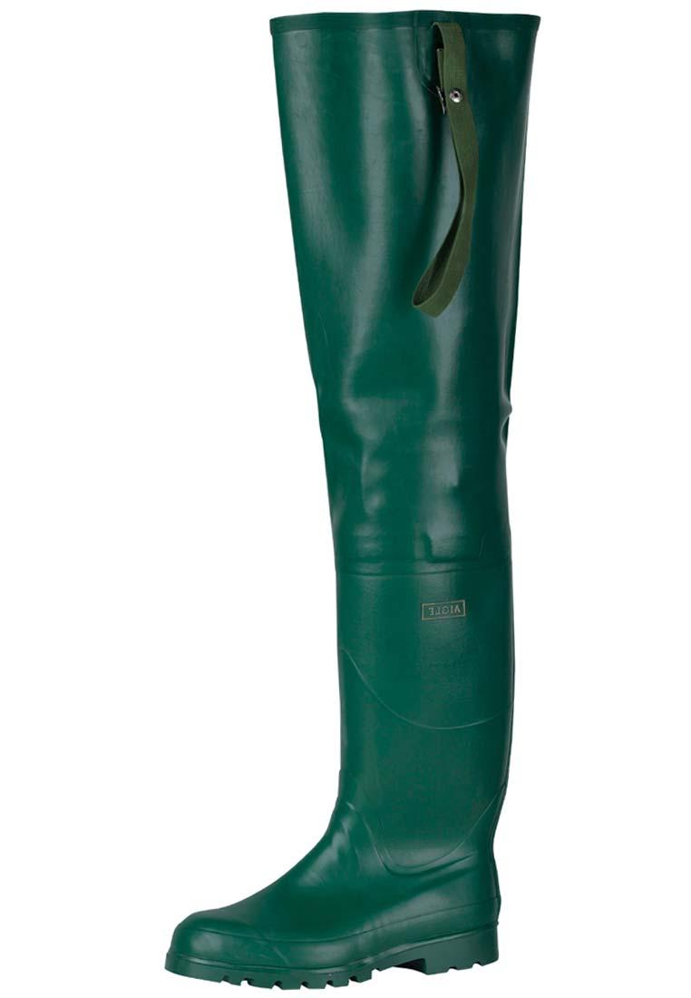 Aigle Riviere Thigh Waders Premium Class Rubber Boots