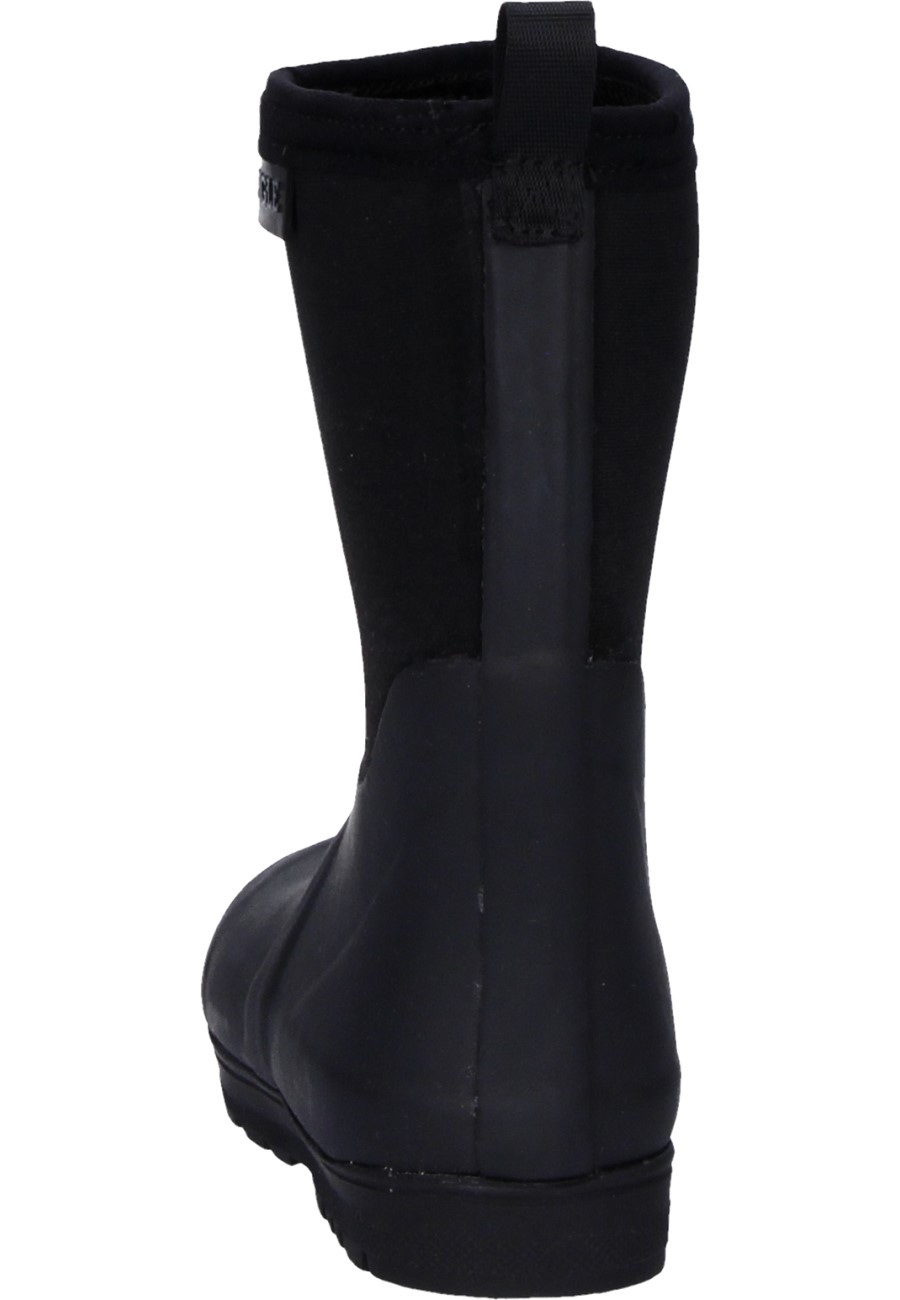 Woody Pop Cross Black Children S Rubber Boots By Aigle