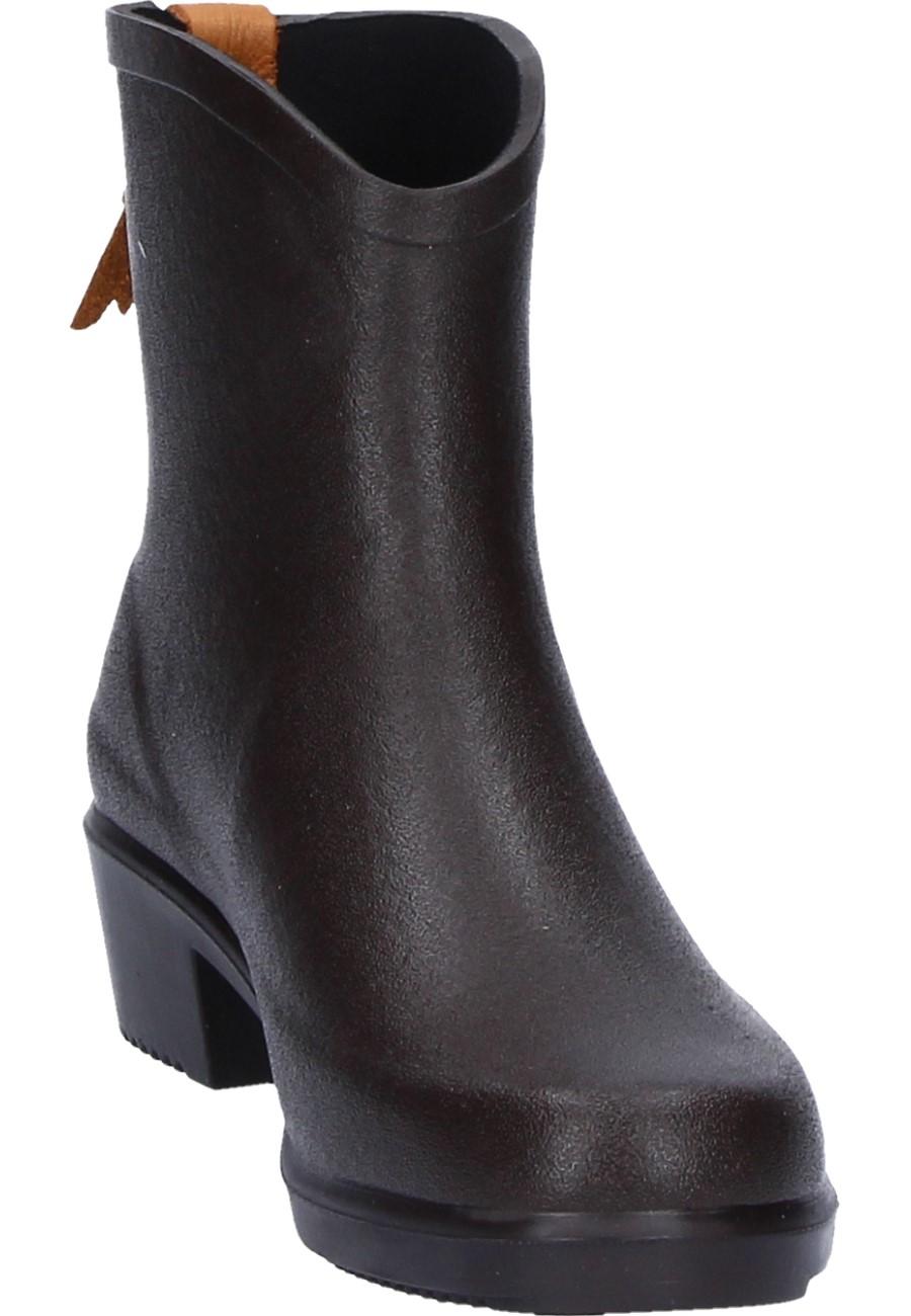 101aa5b3a7d95 ... Aigle -MISS JULIETTE Bottillon brown - Ankle Rubber Boots – a feminine Aigle  Women s Rubber
