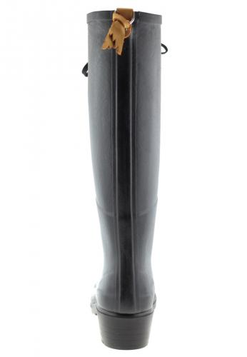 Miss Juliette L Noir Rubber Boots By Aigle