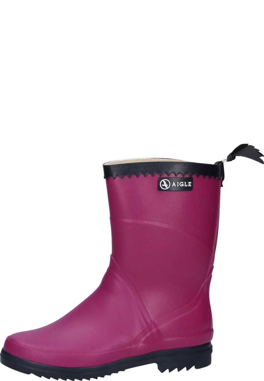 temperament shoes purchase cheap arriving Aigle womens' wellington boot BISON LADY DAHLIA pink