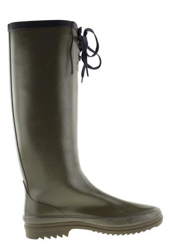 Miss Marion Kaki Marine Rubber Boot By Aigle