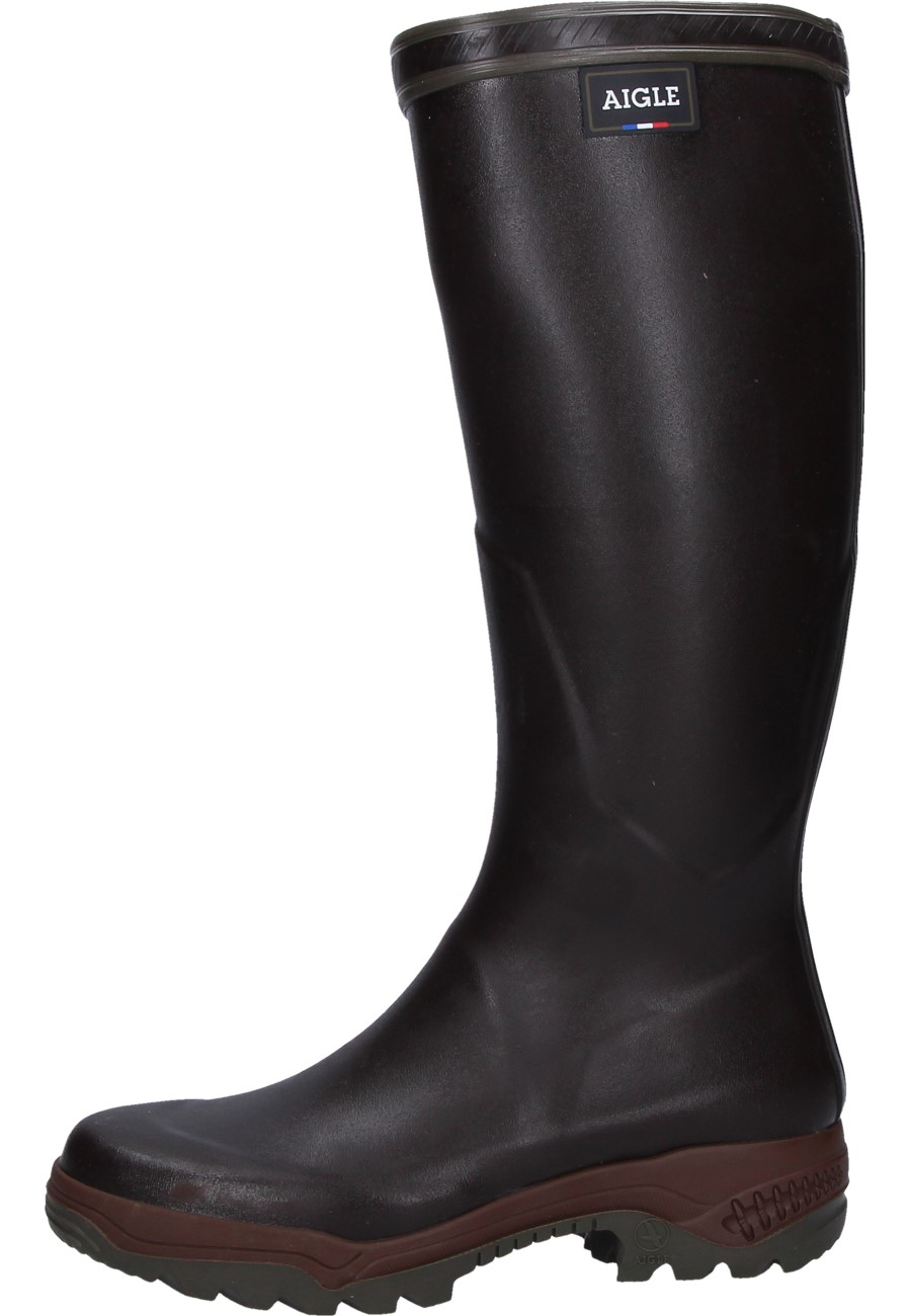 Aigle Parcours 2 Brown Rubber Boots The Rubber Boot
