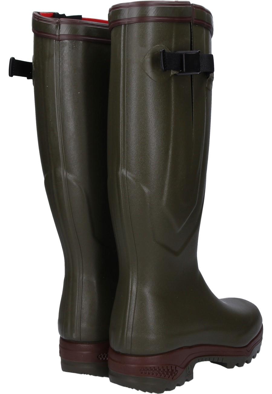 Aigle Parcours 2 Iso Khaki Rubber Boots The Rubber