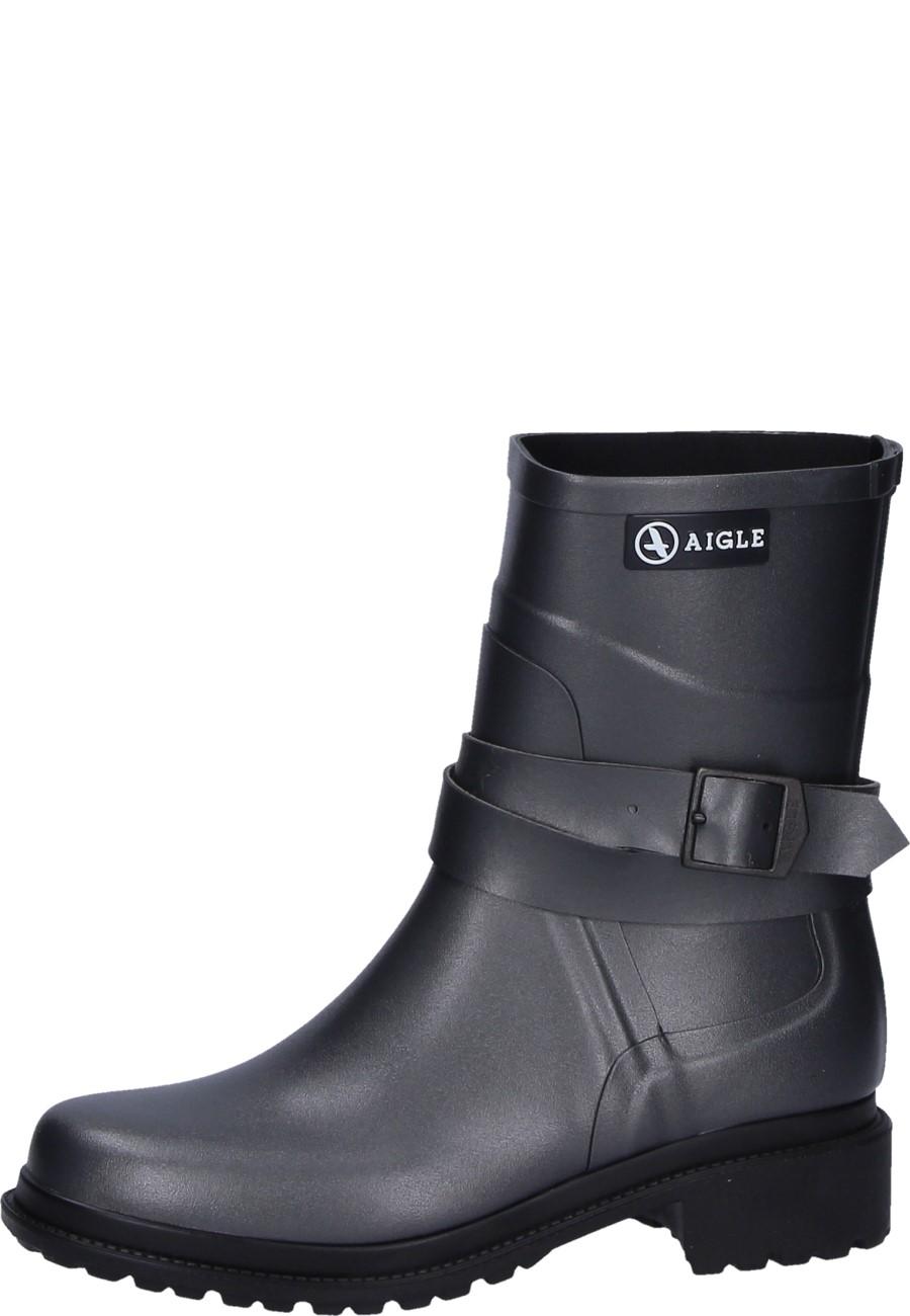 new arrival 21281 a9273 Aigle mid-high women's boots MACADAMES MID metallic