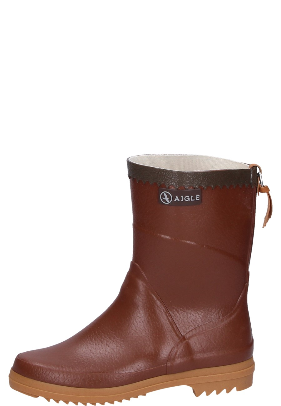 Aigle Bison Lady Amber Rubber Boots A Half Height