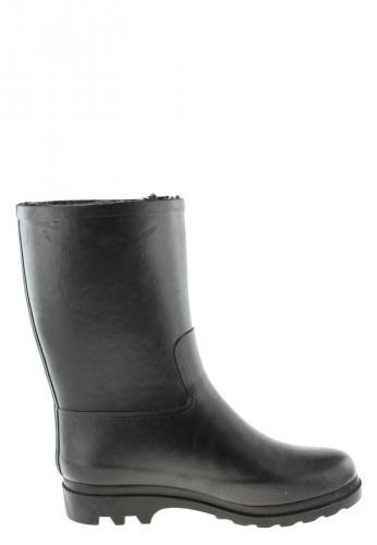 DUVAY FUR noir Winter Rubber Boots by Aigle