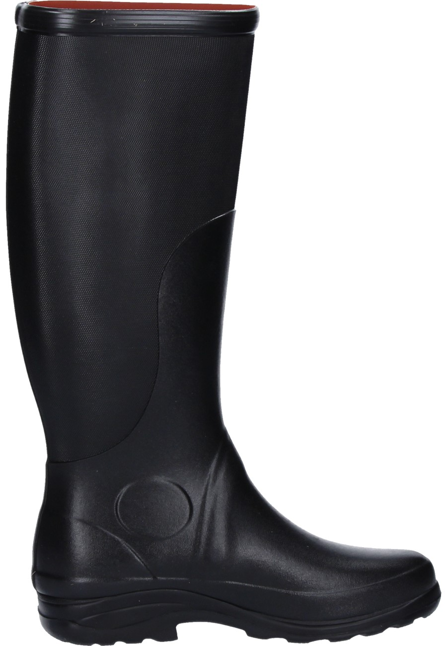 Aigle Rboot Black Rubber Boots Elegant High Quality