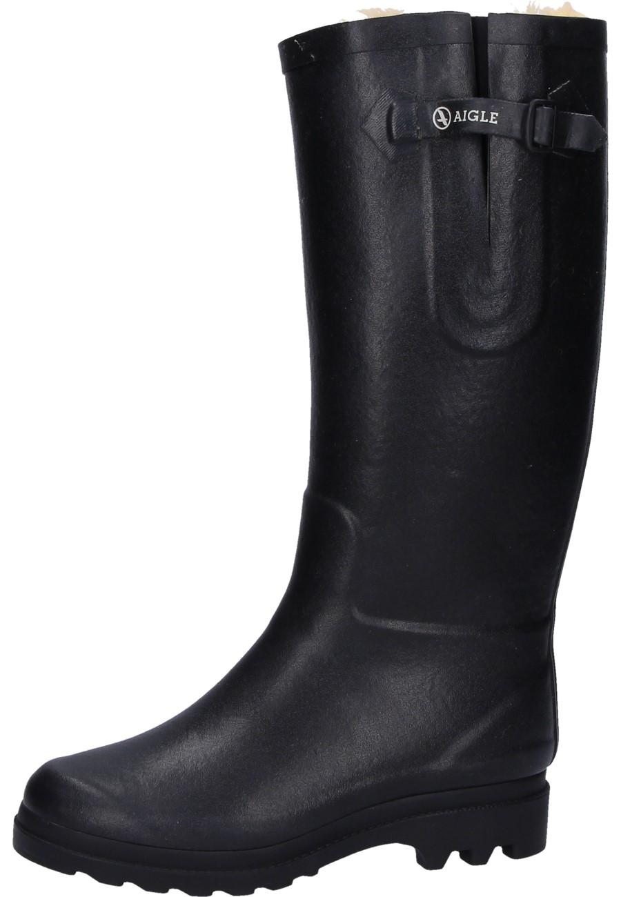 Aigle AIGLENTINE FUR black Winter Rubber Boots