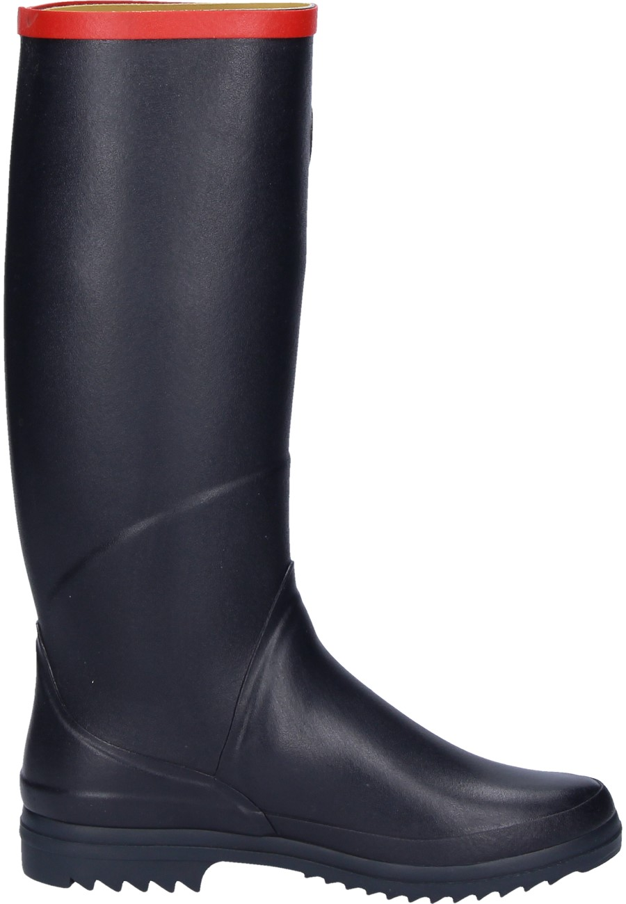 Aigle Chantebelle Marine Rubber Boots A Ladies