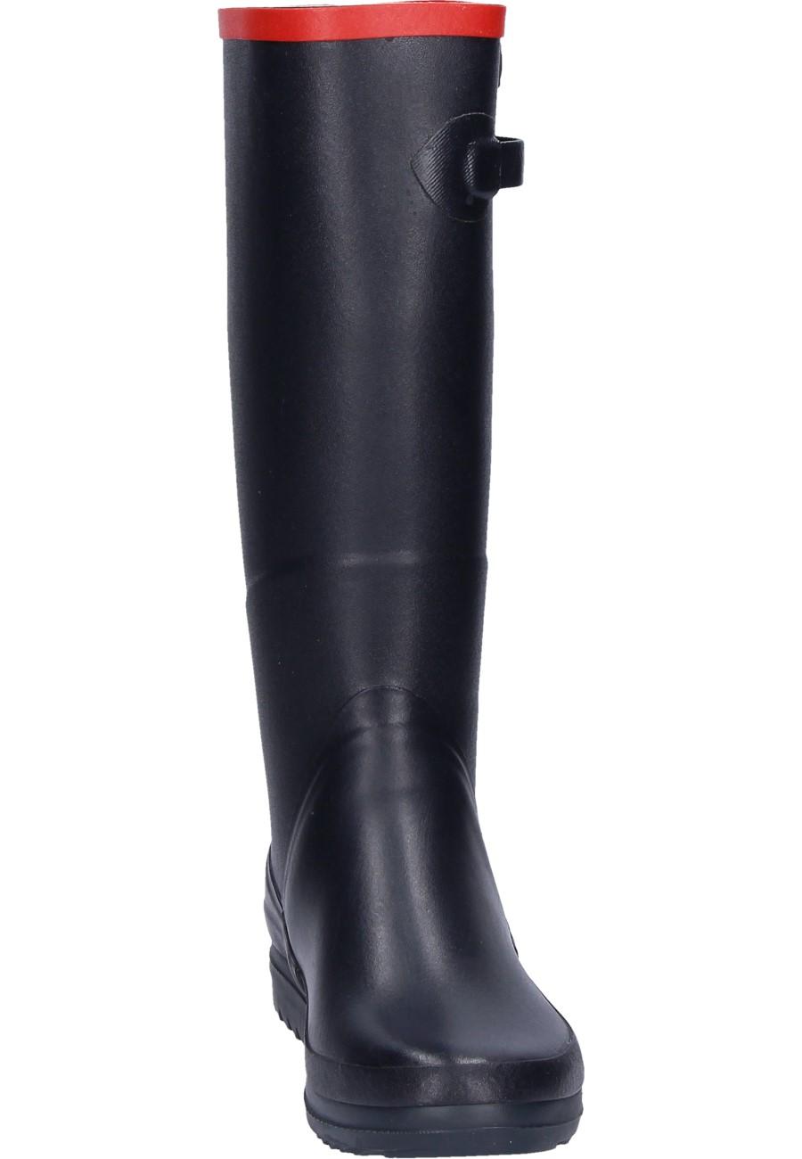Aigle Chantebelle Marine Rubber Boots A Ladies