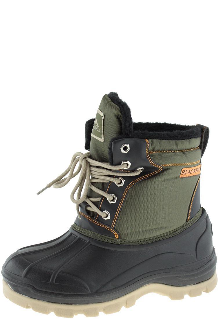 Blackfox Alaska Kaki Lace Up Boots By Ajs