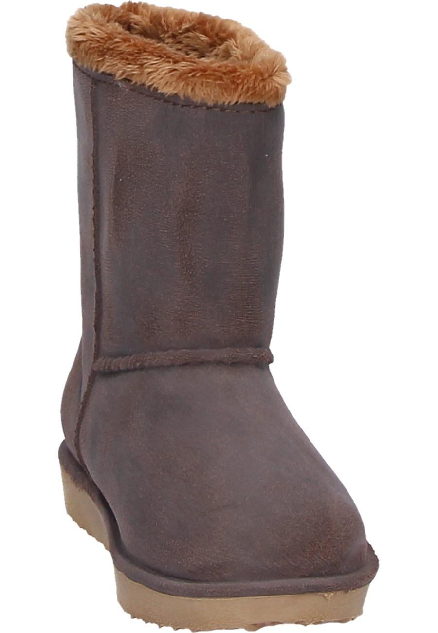 AJS Blackfox winter boots CHEYENNE KIDS marronbeige