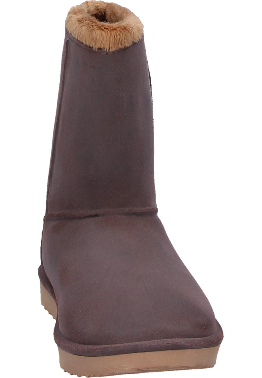 AJS Blackfox Winter Boots CHEYENNE FEMME marron beige