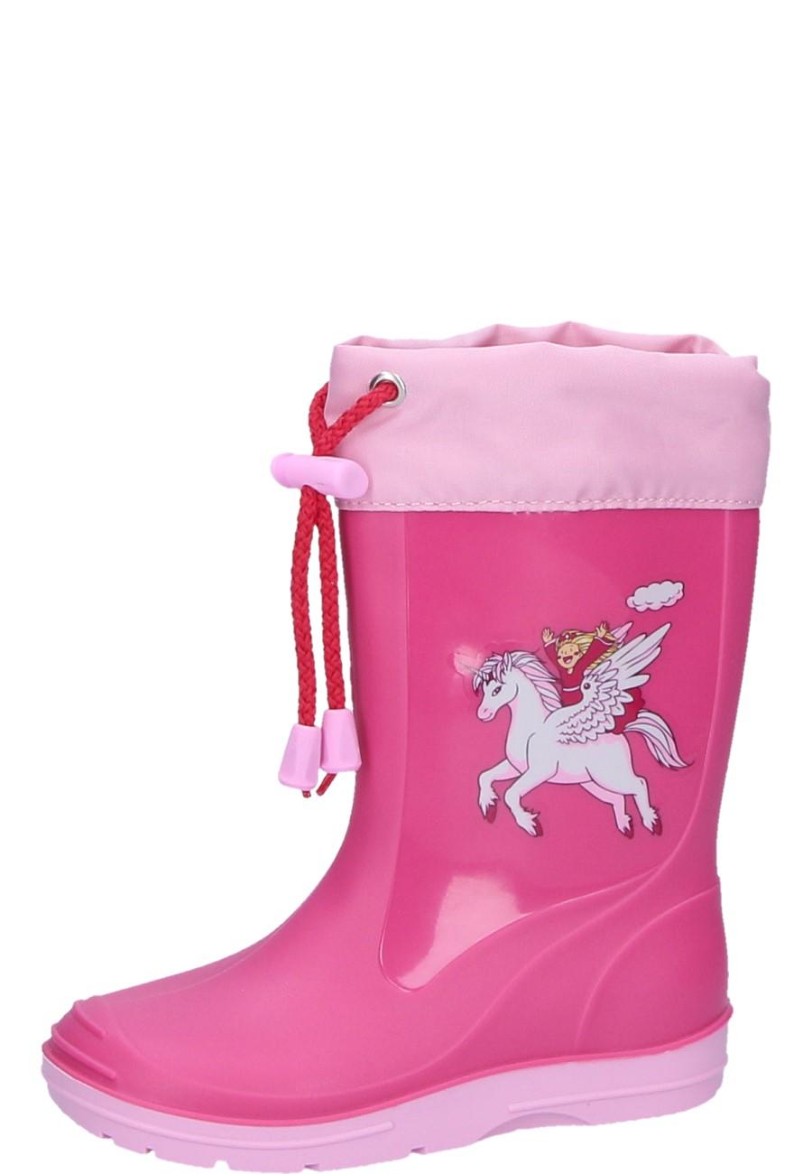 unicorn pink children u0027s wellies by beck