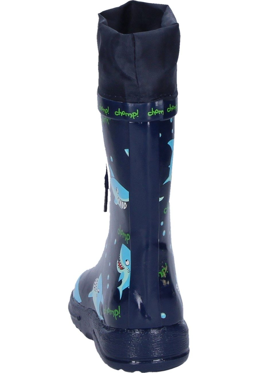 Leisure Time Rubber Boots Shark For Children Of The Label Beck