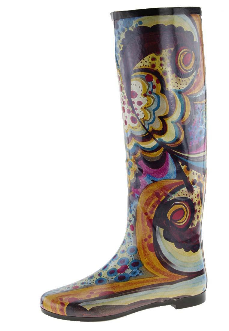b grade gioseppo verdon multicolor rubber boot in size 3. Black Bedroom Furniture Sets. Home Design Ideas