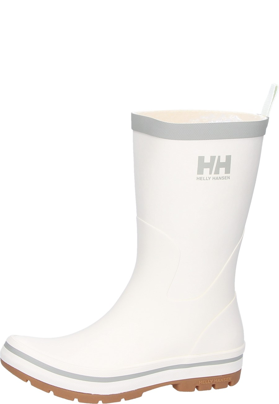 Midsund White Rubber Boots By Helly Hansen