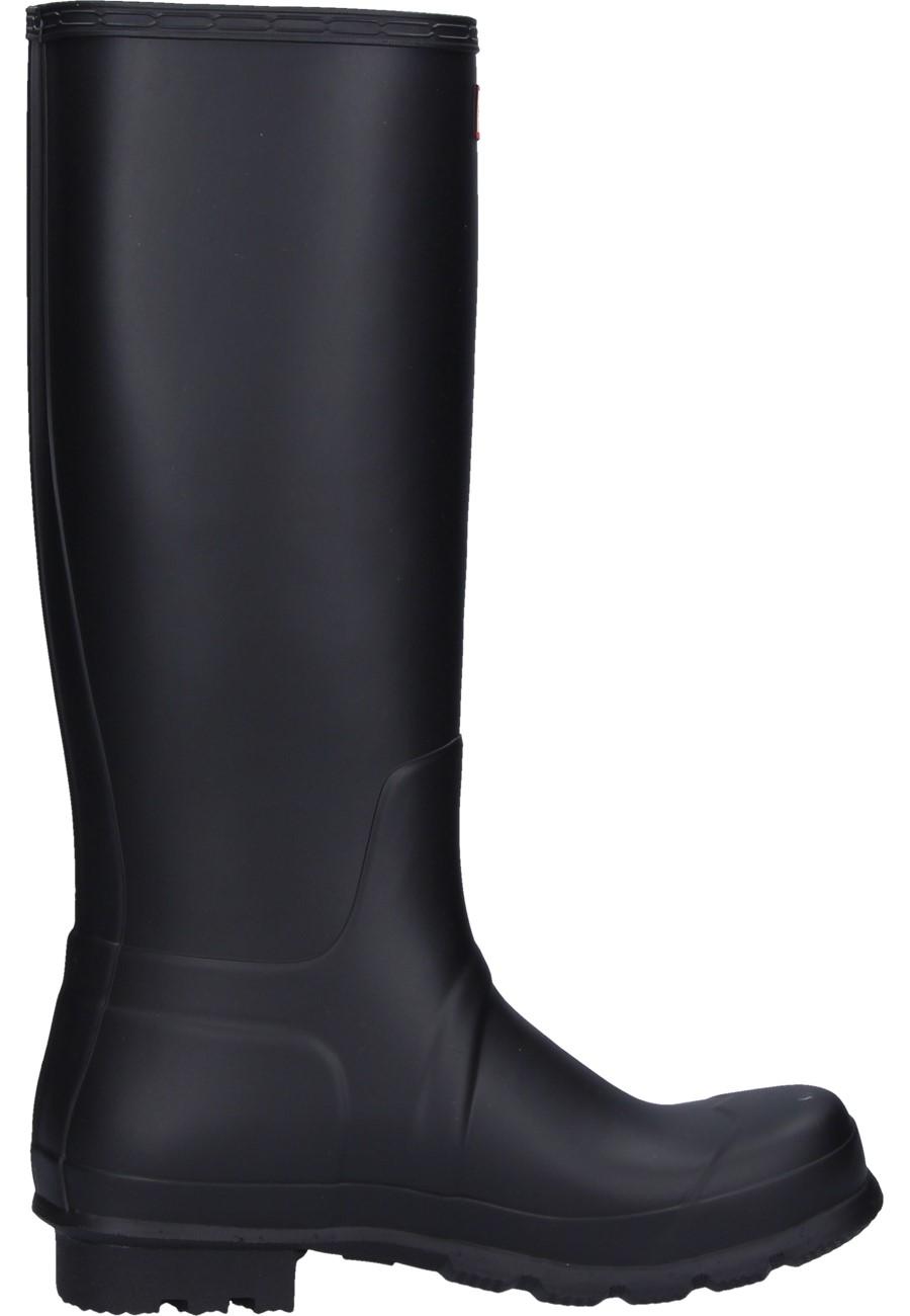 Men 180 S Original Tall Black Wellington Boots By Hunter