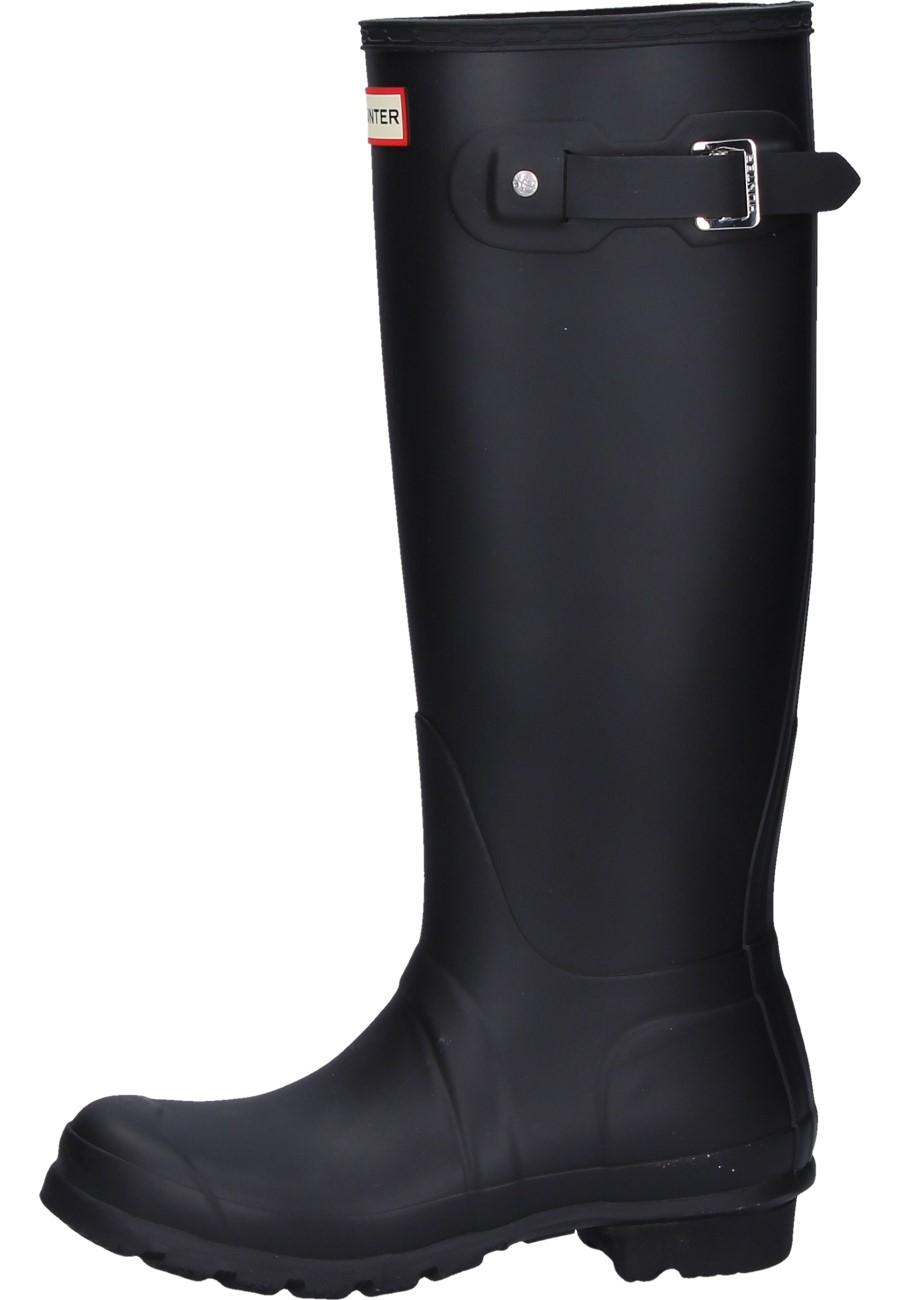 Wonderful Womenu0026#39;s Hunter Original Tall Gloss Wellington Boots
