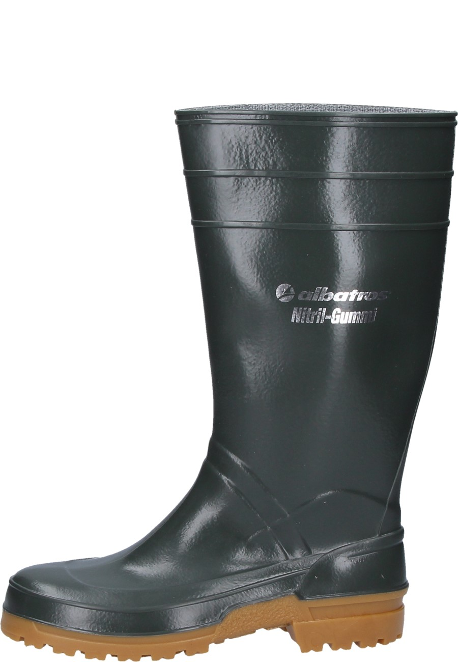 Albatros Nitrile Rubber Boots A High Green Work Boot To