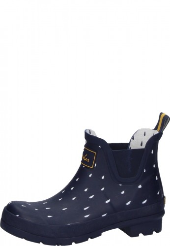 1e24f9cb9f8d Rubber ankle boots for women Navy Raindrops of the company Joules