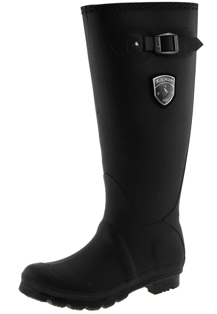 Kamik Jennifer In Black Rubber Boots A Fine Rain Boot