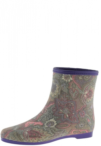 City Boot Paisley Women S Ankle Rain Boots By Keddo