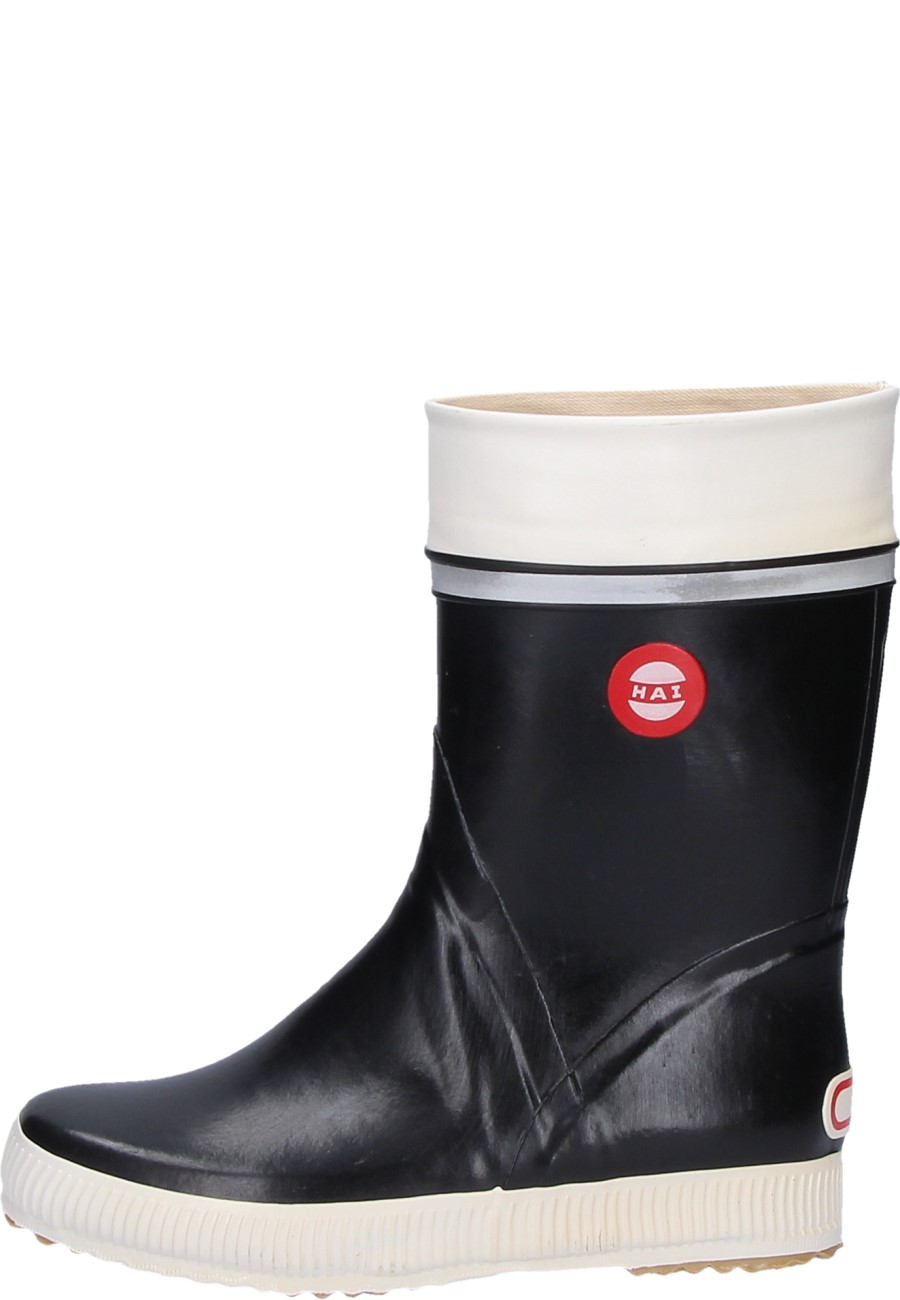 Hai Black Rubber Boots By Nokian