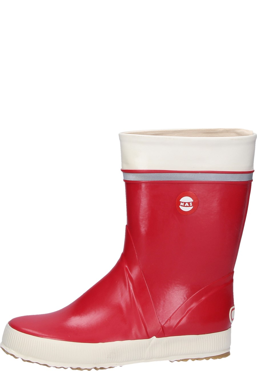 Hai Red Rubber Boots By Nokian