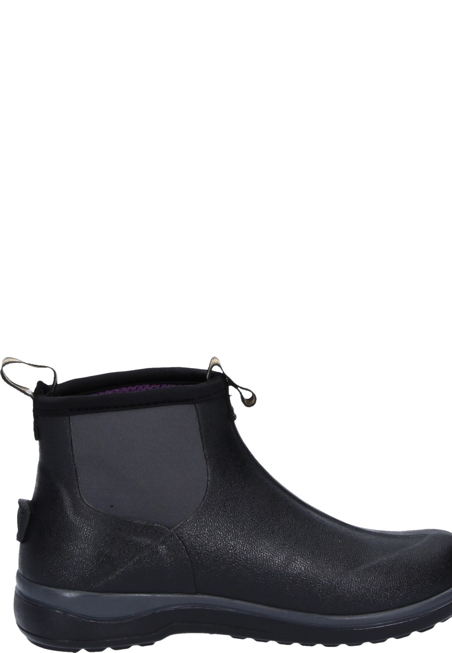 Muds Stay Cool Women S 6 Black Rubber Ankle Boots By Noble