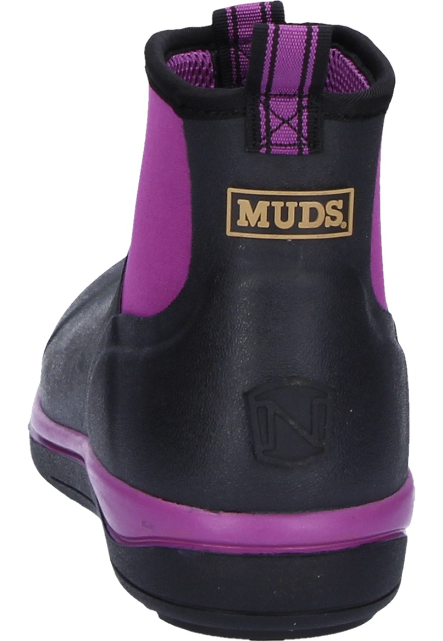 Muds Stay Cool Women S 6 Blackberry Rubber Ankle Boots By