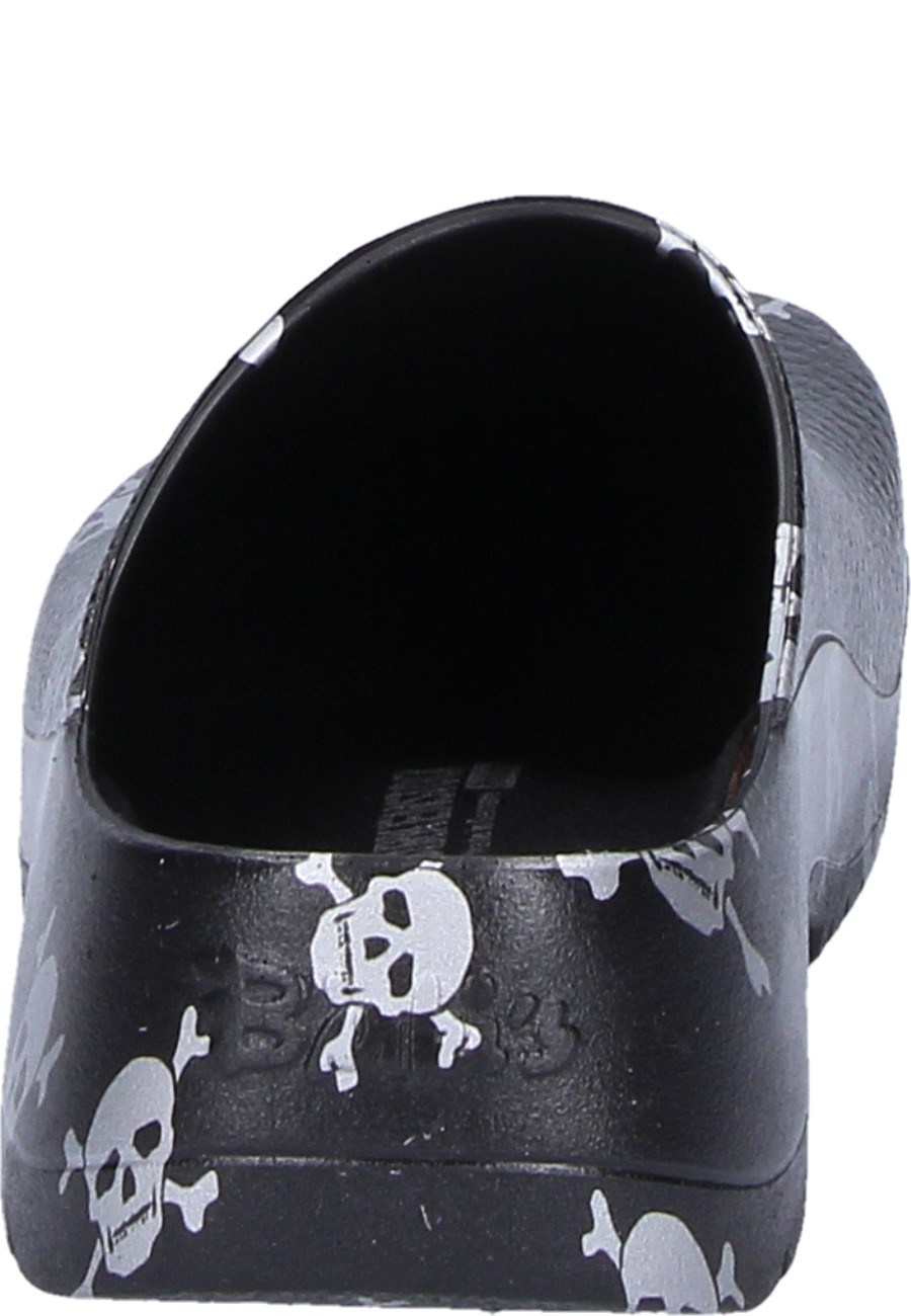 14dd18e1b9a463 ... Birkenstock Professional Clog SUPER-BIRKI black skull ...