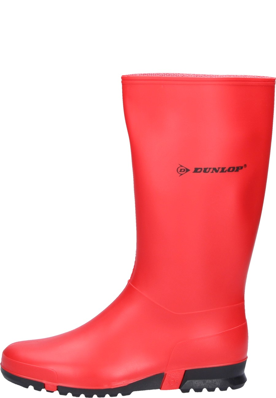 4b88077a3f62 Sport red black wellington boots for leisure time by Dunlop