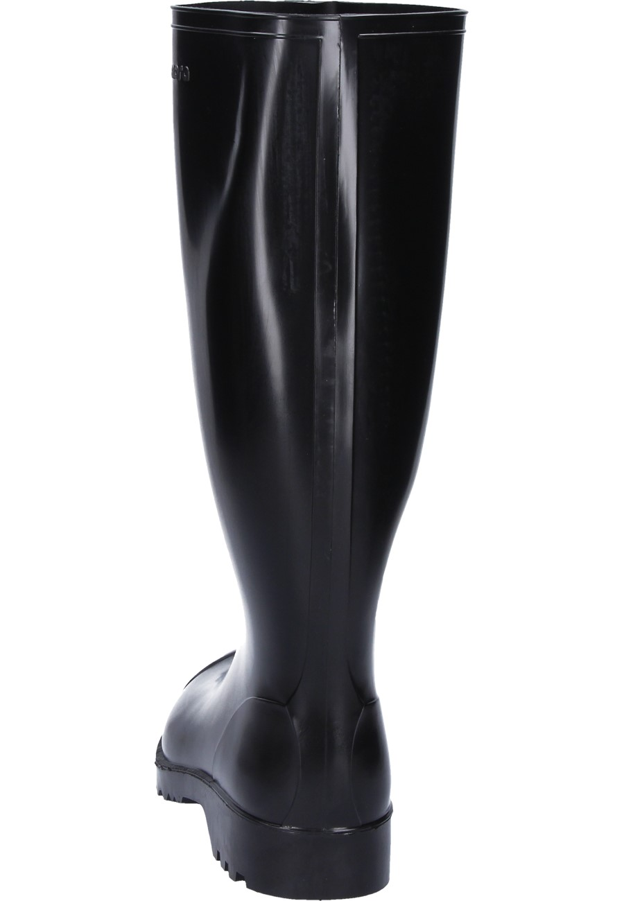 ad0d213313a Nora -Antonia- Black Unlined Work and Leisure Wellington boots for women