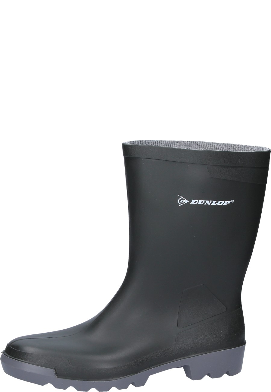 Dunlop -Hobby short- PVC Wellington boots - a green half-height rain boot
