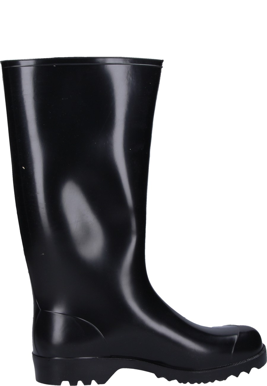 Nora Anton Black Unlined Work And Leisure Wellington Boots