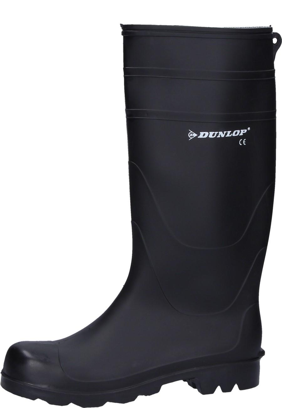 426383cbc702 Black rubber boots Dunlop Universal