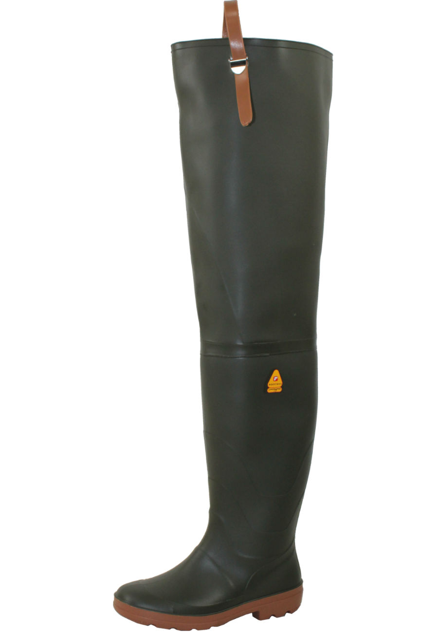 Nora River Thigh Waders A High Quality Wellington Boot By Nora