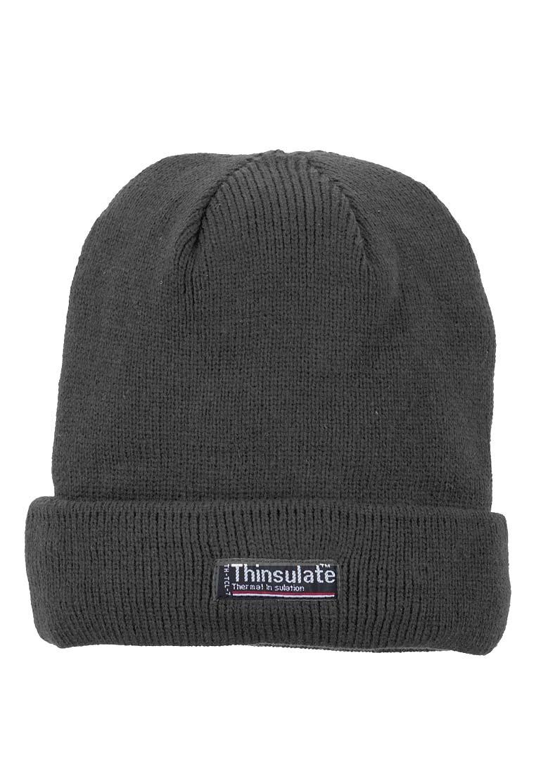 Warm Thinsulate Beanie Hat in anthracite for Work and Leisure - 100 ... d20b4859d680