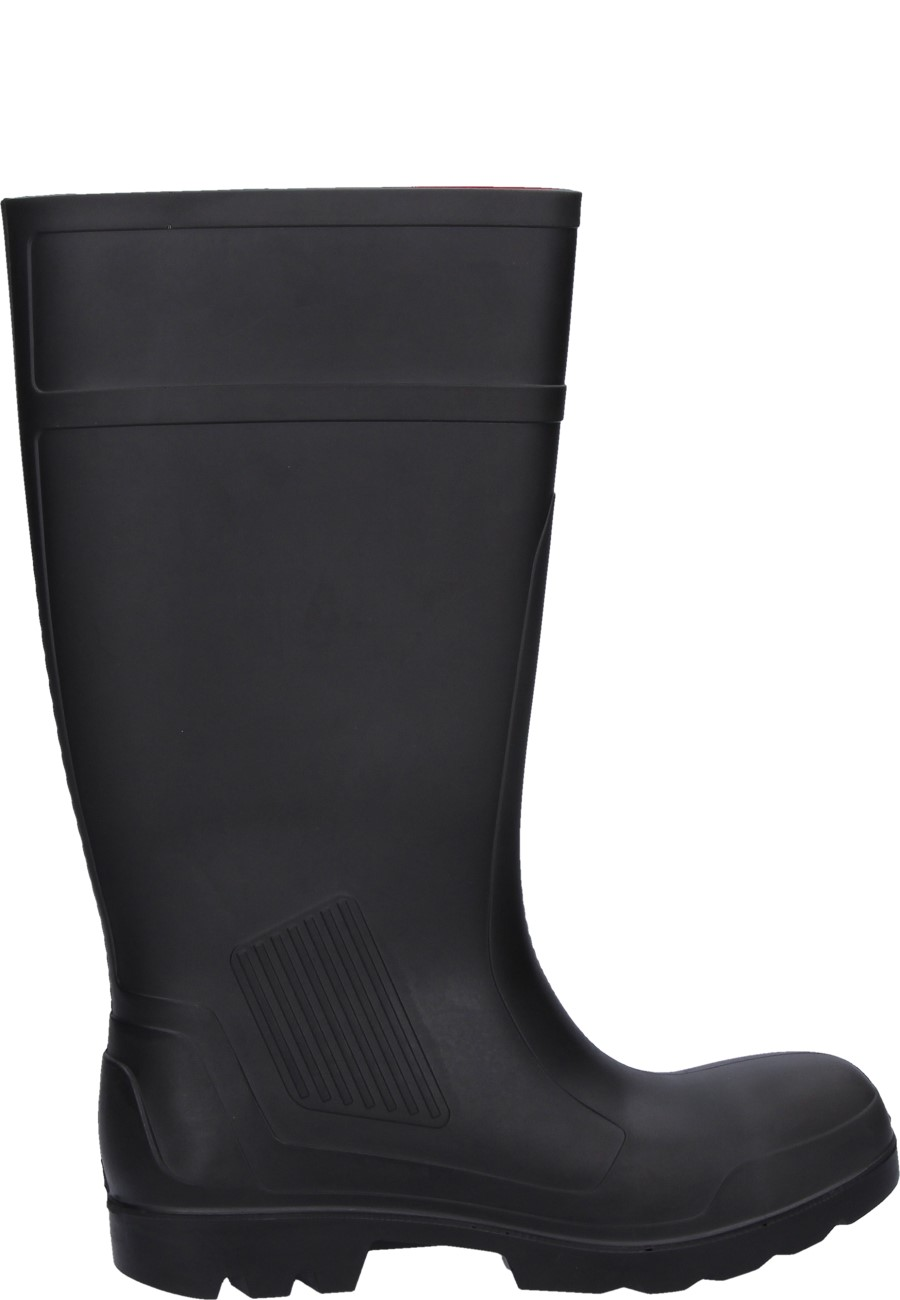 1536c7fed439 Purofort Professional Full Safety black Wellington boots by Dunlop