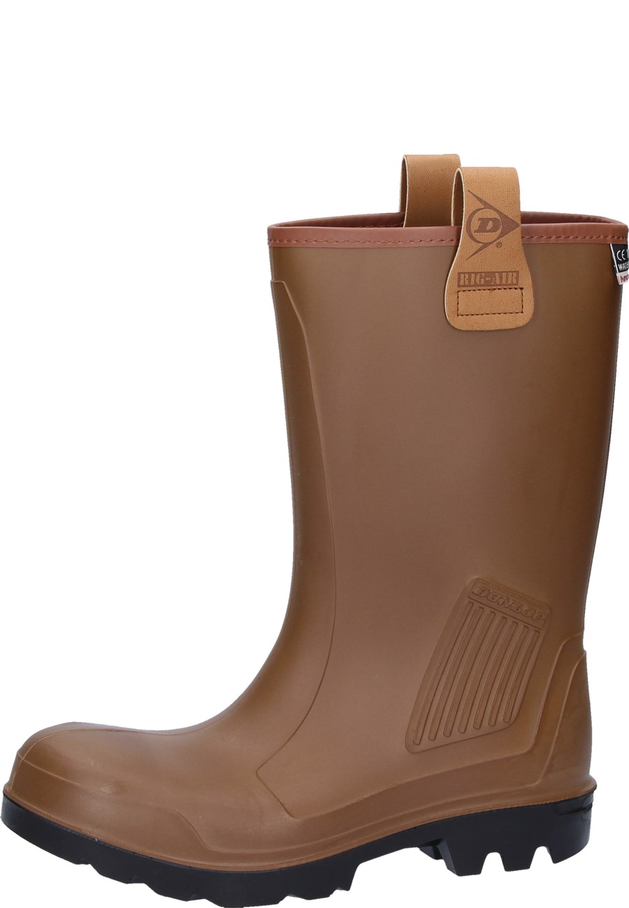 Rig Air brown- Short Shaft Wellingtons
