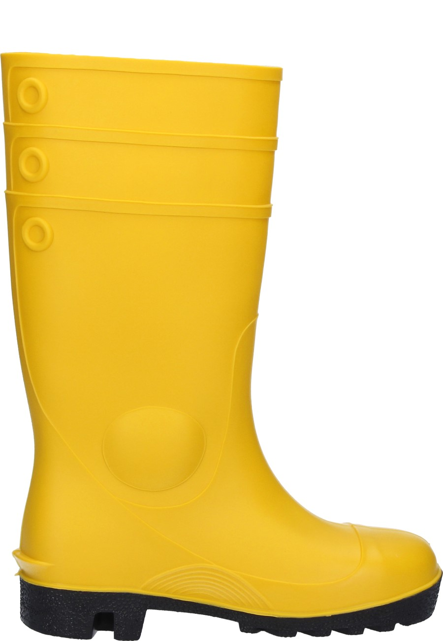 Dunlop Protomastor Full Safety Yellow Wellington Boots