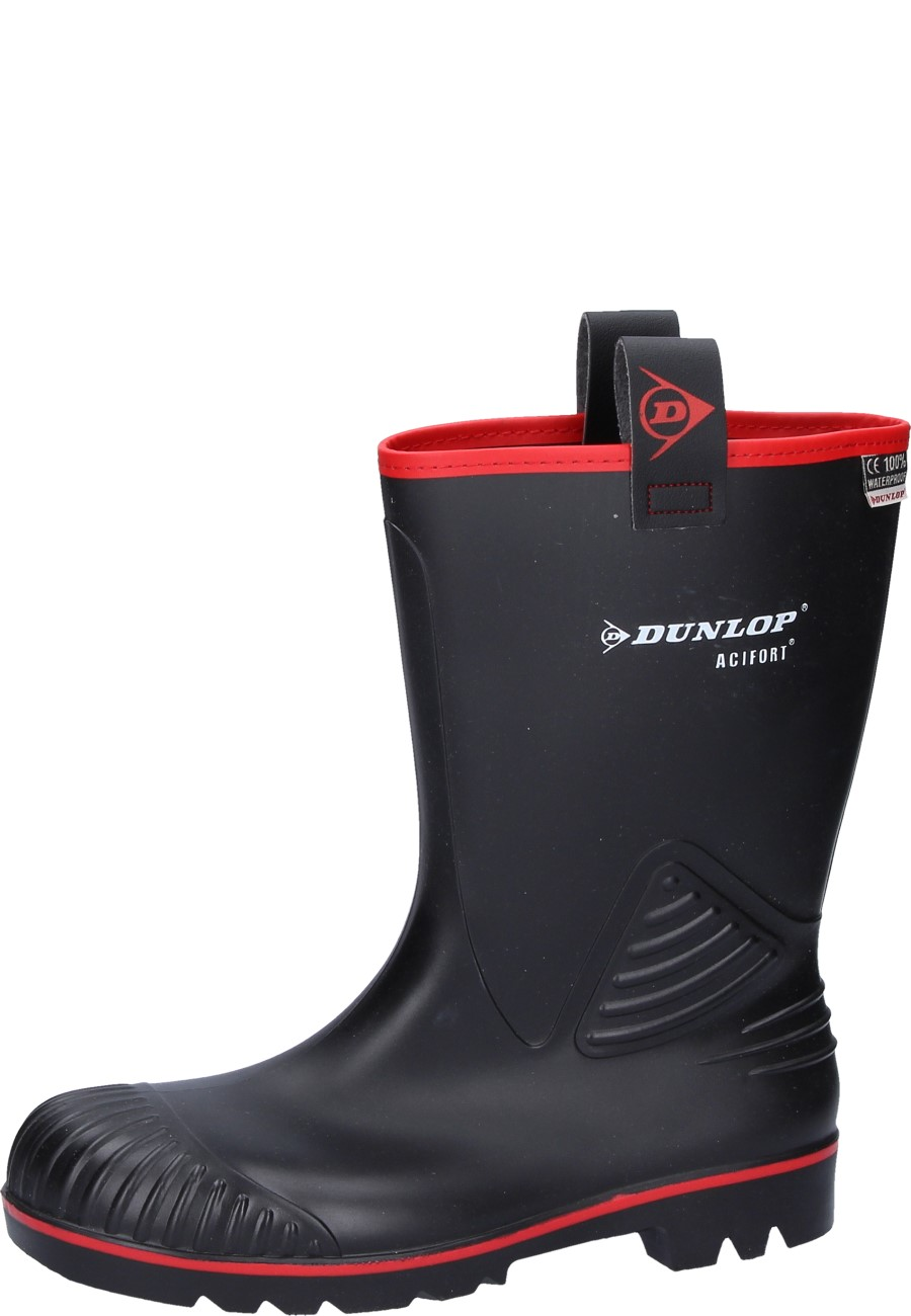 Acifort Rocker black S5 Safety Boots by